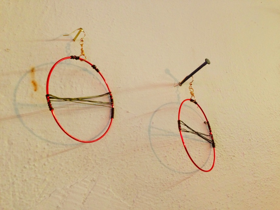 GG for Firefly // Red and Brass Hoops